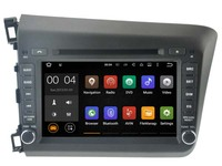 Android 7.1 Car Dvd Navi Player FOR HONDA CIVIC 2012 audio multimedia auto stereo support DVR WIFI DAB all in one