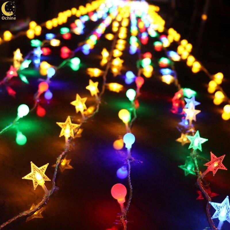 Led Lanterns Star Lights String