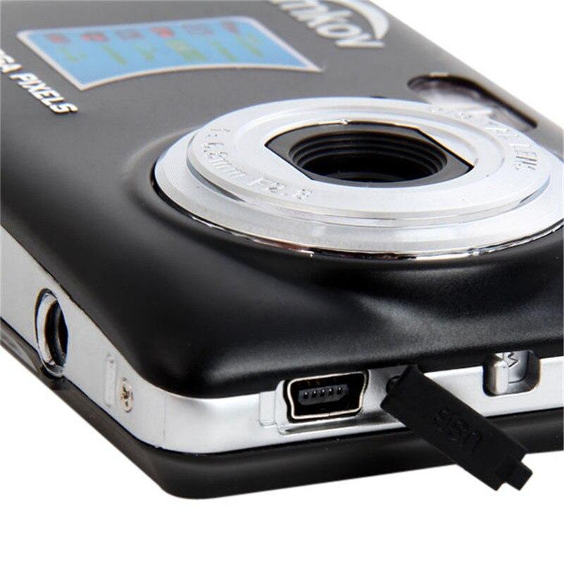 Original Amkov AMK-CDFE Professional Camera Compact Camera 8mp 2.7Inch LCD 9.5 * 6 * 2cm Mini Portable HD Camera Digital Cameras