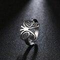DOTIFI титановые 316L кольца из нержавеющей стали для женщин обручальное кольцо с бабочкой ювелирные изделия