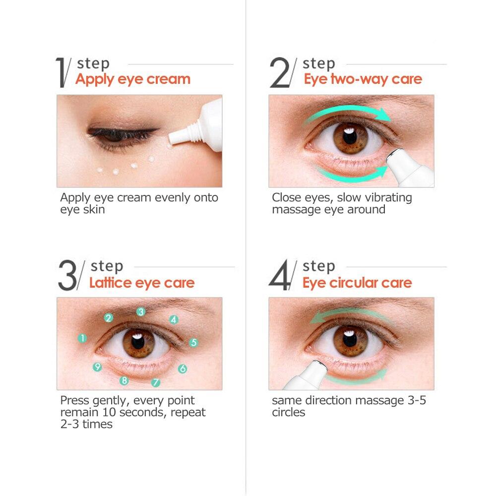 Electric Eye Wrinkle & Eye Massager Wand Heated Vibration Wrinkle Eraser 3 Pack - Perricone MD Hypoallergenic Nourishing Moisturizer 2 oz