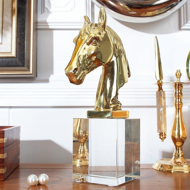 Moderne luxus büro  Einige moderne luxus natürlichen kristall ornamente mit kupferkopf ...