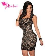 Sexy dámské šaty s květinami na ramínka, velikost XL