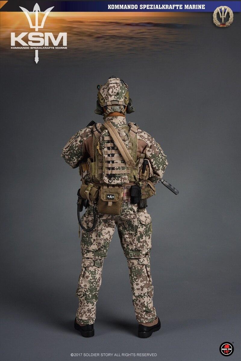 1//6 Scale Soldier Story SS104 German KSM VBSS Figure Meindl Glockner MFS Boots