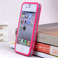 On sale!1/tern Retail middle transparent bumper for iphone 4g 4s best quality cell phone plastic dirt-resistant protector bumper