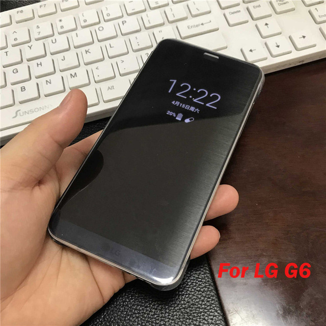 competitive price bd1bd c83e9 US $8.28 15% OFF Quick Cover Case for LG G6 5.7