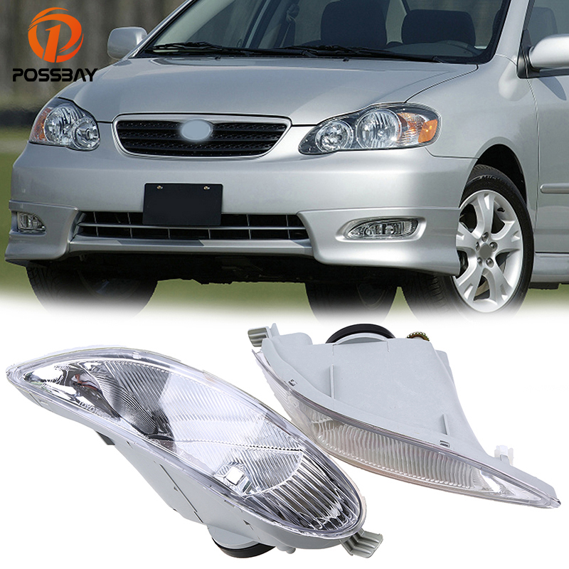 Possbay Fit For 2005 2006 2008 Toyota Corolla S Xrs Models Facelift Fog Lamp