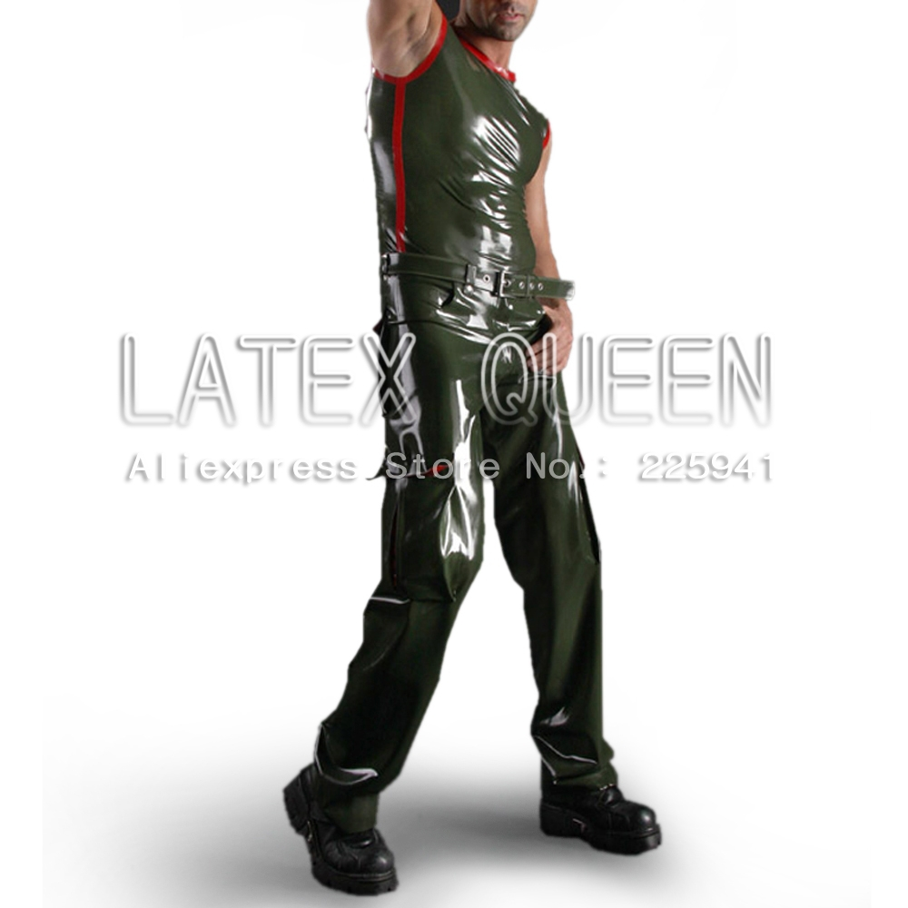 best selling latex uniforms wear top pants