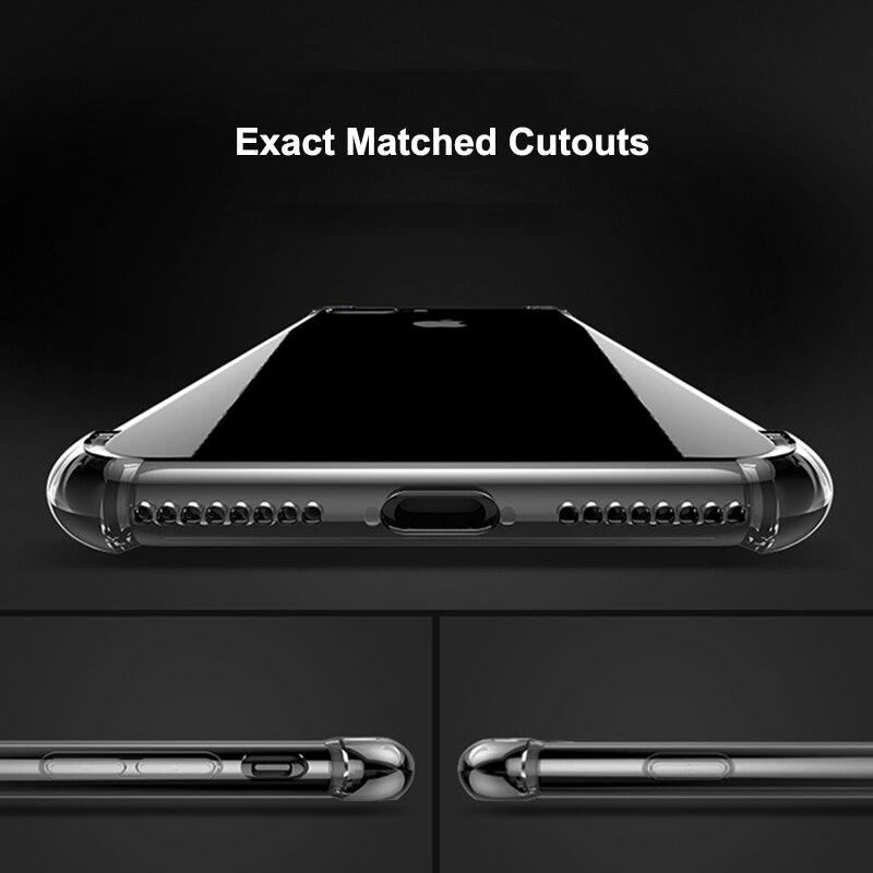 HD Clear TPU Funda para iPhone 7 8 Plus para iPhone 8 7 Fundas 360 - Accesorios y repuestos para celulares - foto 3