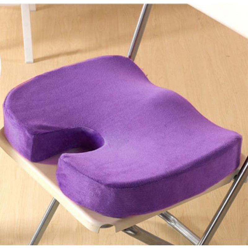 Hot New Coccyx Orthopedic Memory Foam Seat Cushion For Chair Car Office Home
