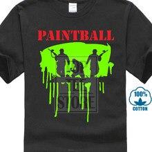 Paintball Spaß Spiel Zocken Farbe Spiel T Hemd #117 T-shirt Marke 2020 Männlichen Schwarz