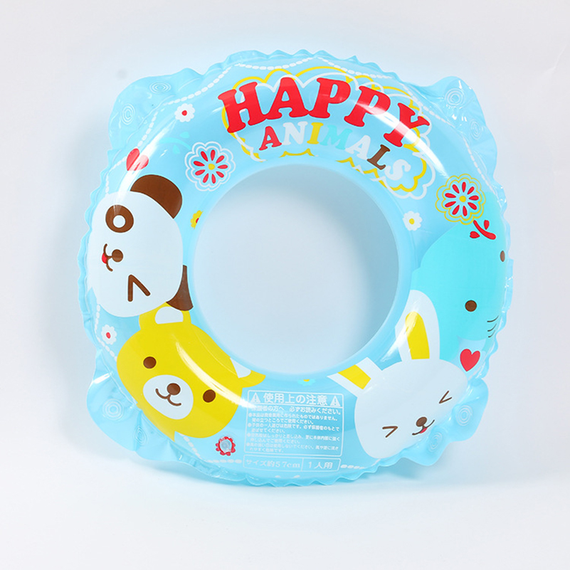 Kids Inflatable Swimming Rings Childrens Pool Float Print Strawberry Swim Rings Pool Tube Toys Kids Buoy Swimming Summer Fun