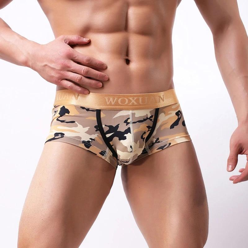 3er Pack Boxer Shorts Camouflage en Farbmix-Boxeur que je bois Army Slip