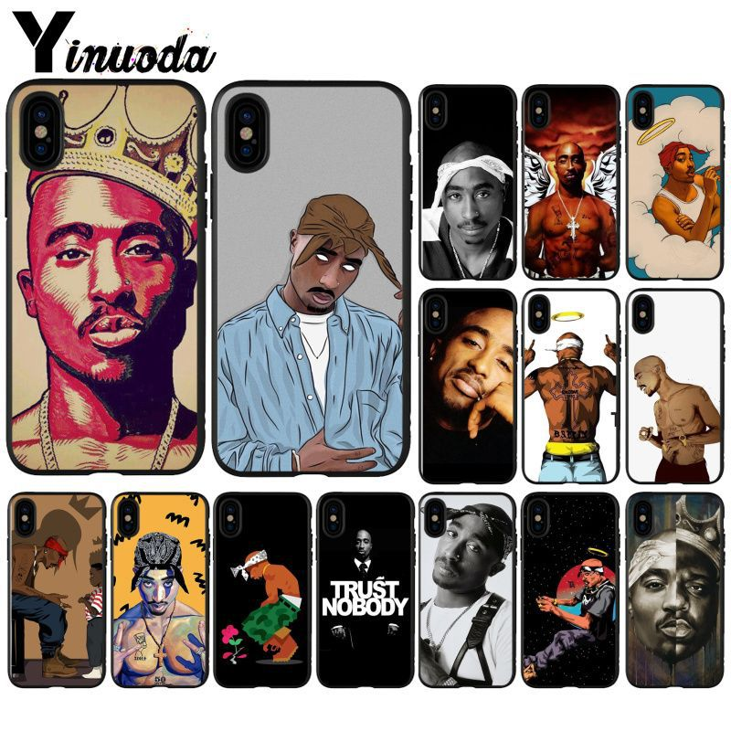 Yinuoda 2Pac Tupac Shakur Super Deal Mobile Case for iPhone X XS MAX 7plus 8 8Plus 5 5S XR 6 6S 7 Case image
