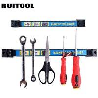 RUITOOL 12 18 Magnetic Tool Holder Strong Metal Magnet Storage Tool Organizer For Garage Tool Storage