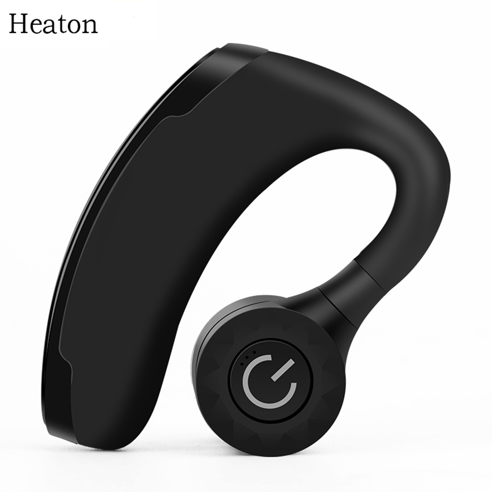Heaton Wireless Bluetooth Earphone Headsets Office Handsfree Bluetooth Headset Headphones with Mic Voice Control Music Earbud svvcn1616h11 cnc lathe internal threading turning tool holder w wrench
