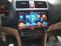 4GB+64GB PX5 10.1 Android 8.0 Car DVD GPS for Honda Accord 7 2003 2004 2005 2006 2007 Stereo Radio Bluetooth WIFI Mirror link