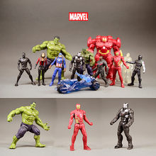 Vingadores Marvel 3 Infinito Guerra Anime Filme Super hero Capitão América Thor Hulk Ironman Spiderman Super hero Brinquedos Estatueta(China)