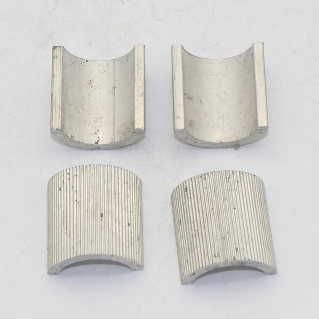 4 Stuks 7/8 Inch/22mm Tot 1 Inch/25mm Stuur Mount Riser Clamp Conversie Shim Spacer Aluminium Voor Motorfiets Het Hele Systeem Versterken En Versterken