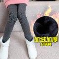 Girls Leggings 2016 Winter New Children Velvet Thickening Warm Pants Princess Maiden Clothing 2-13 Years