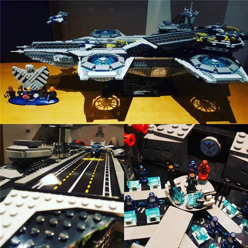 87025 3057 STUKS Super Heroes De Shield Helicarrier Compatibel 07043 76042 Model Building Kits Bakstenen Blokken Speelgoed Voor Kinderen-in Blokken van Speelgoed & Hobbies op  Groep 2