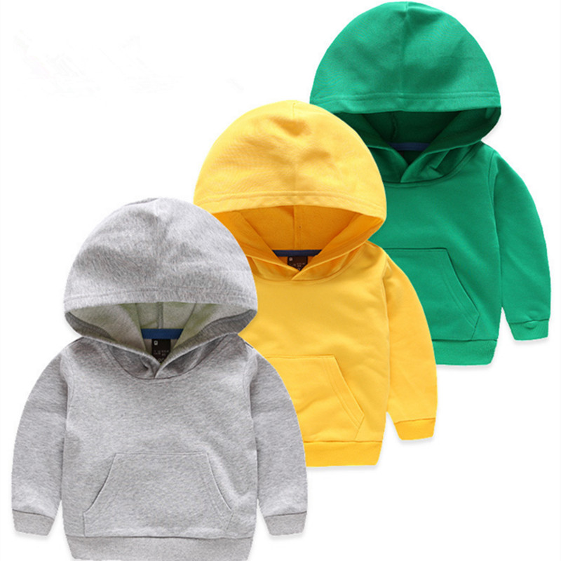 2-6Y Boys Hoodies Children Infant Sweatshirt Cotton Overcoat Jacket  Fashion Hoodie Baby Thick Sweatshirts Kid's Sweater