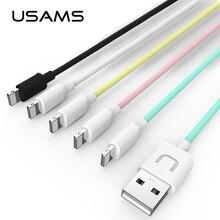 Для iPhone 5 Кабель Usb USAMS 2A Быстрое Зарядное Устройство Кабель для iPhone 5 iphone5 Дата Кабель Свет(China (Mainland))