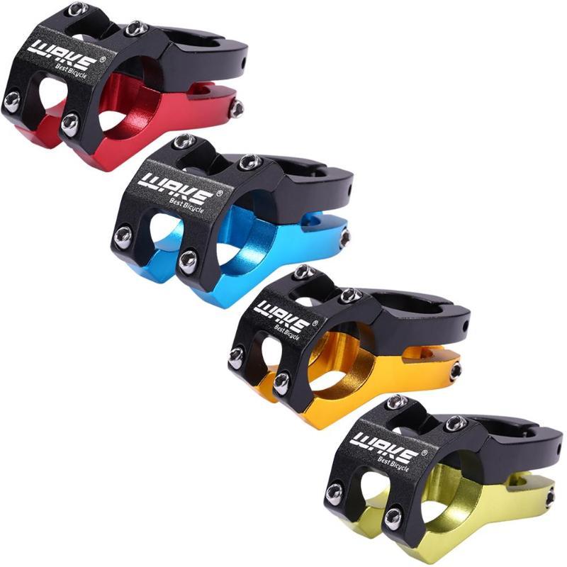 Wake mtb guidão da bicicleta haste da bicicleta 31.8mm ciclismo peças da bicicleta 5 cores guiador haste liga de alumínio