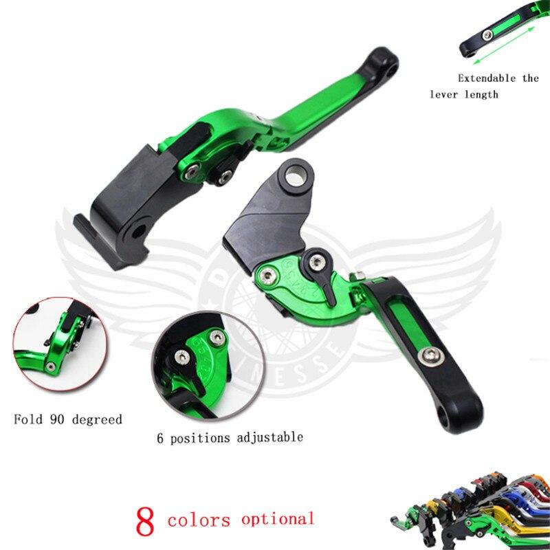 ФОТО  motocross adjustable motorcycle brake clutch levers for honda CB1000R 2008-2016 CBR1000RR / FIREBLADE 2004-2007