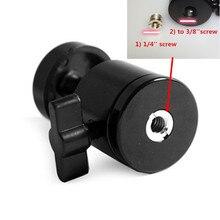 """Универсальный мини штатив шаровая Головка с 1/"""" 3/8"""" адаптером для цифровой камеры DSLR Q29 II"""