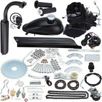 80cc 2 Stroke Motor Engine Kit for DIY Motorized Bicycle Push Bike Complete Petrol Cycle Motor Set