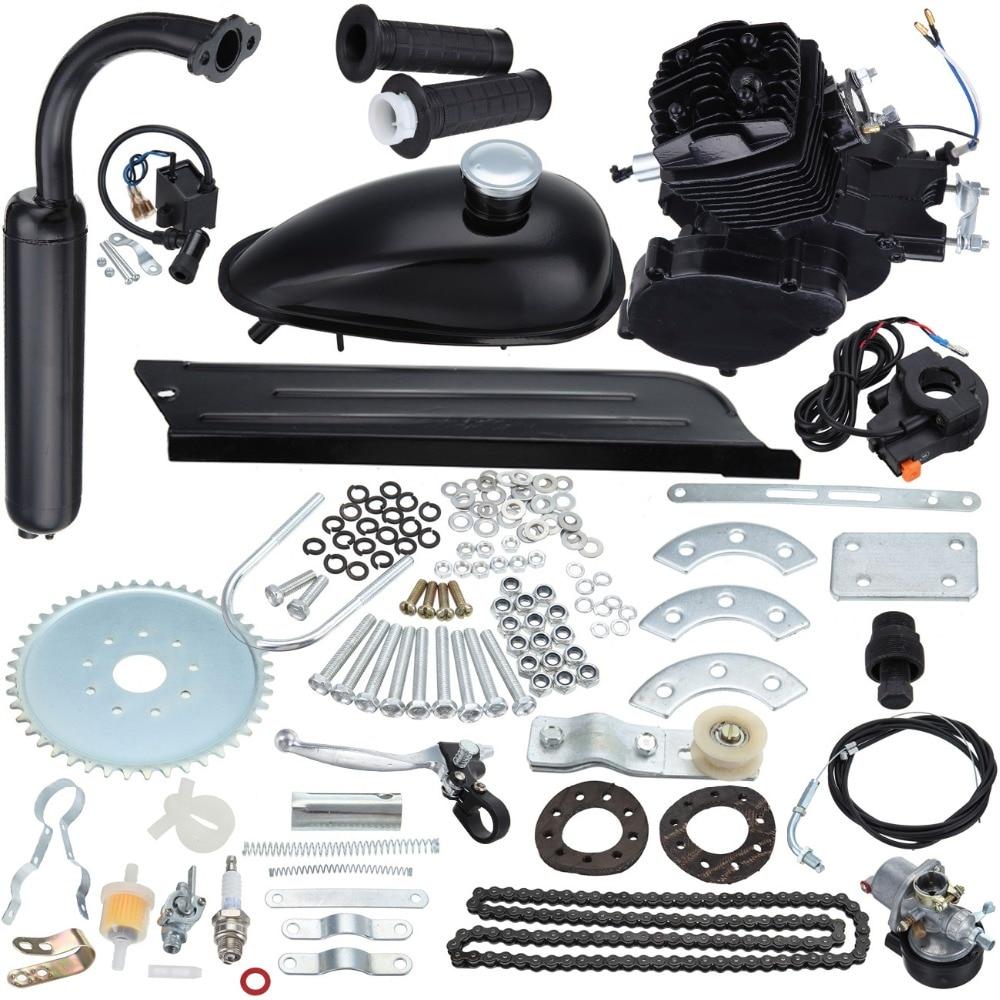 80cc 2 Stroke Motor Bicycle Engine Kit For DIY Motorized Bicycle Push Bike Complete Petrol Cycle Motor Set