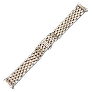 Image 2 - Kavisli Ucu Paslanmaz Çelik saat kayışı için Seiko 5 SKX007 Premier Üstün Presage Bilek Kayışı Gümüş Gül Altın 18mm 20mm 22mm