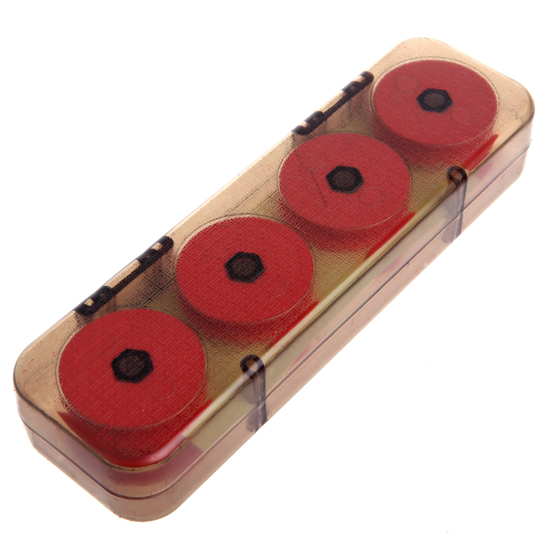 16pcs EVA Fishing Winding Board Plate Portable Fishing Line Spool Shaft Box 7E