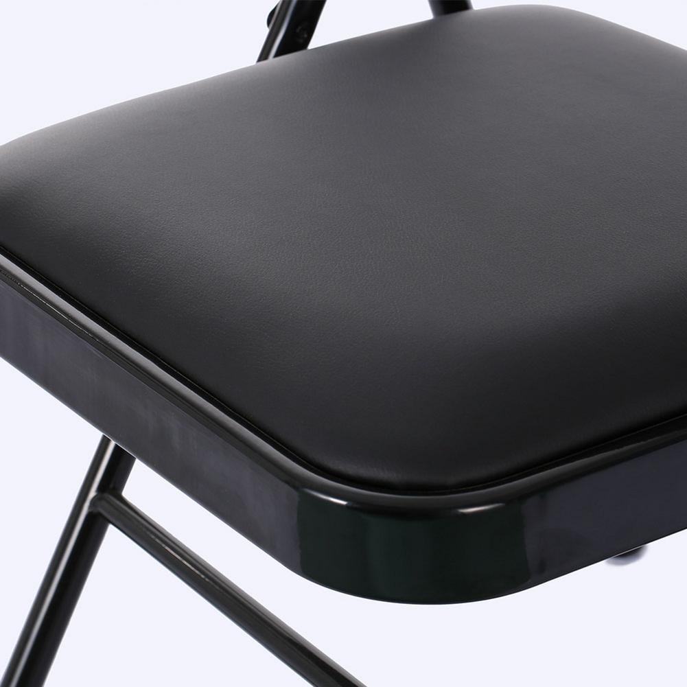 4 pcs Cadeiras Dobráveis Portáteis Para A Pesca Ao Ar Livre Barraca de Camping Cadeiras Assentos PVC Almofada Do Encosto E Preencher Com Esponja Dentro de Casa - 4