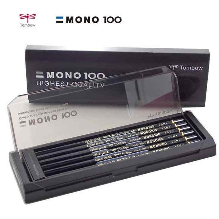 Tombow MONO 100 Bleistifte Set 12 teile/schachtel Mono-Graph Professionelle Bleistifte HB B 2B 4B 6B Japan