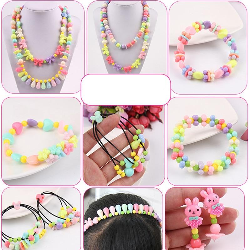 Bulk Fashion Beaded Toys For Girl Ma Caron Diy Bracelet Toys Jewelry
