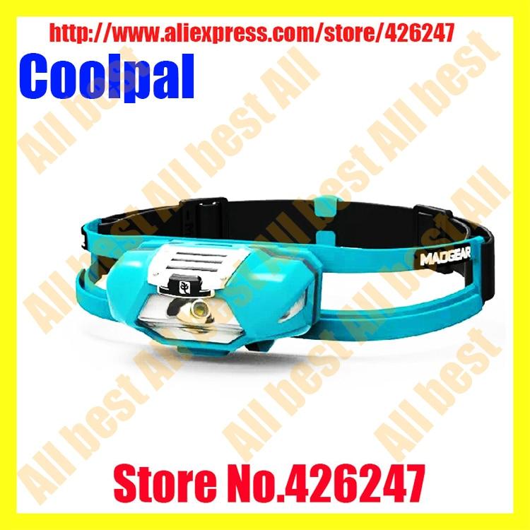 ФОТО Maogear SUNREE Coolpal Night Running Headlamps 1*Cree 140 Lumens Professional Off-road Headlamps + Original AA Battery