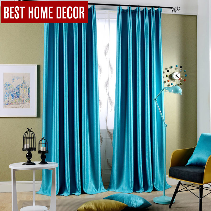 Best Home Decor Drapes Window Blackout Curtains For Living Room The Bedroom  Modern Blackout Curtains For