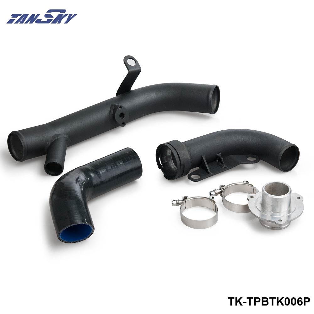 TANSKY - Hi-Flow Turbo Discharge Conversion Kit For VW R20 Golf /Scirocco R/2006 FOR AUDI TTS FSI TK-TPBTK006P epman for vw audi tt s golf r turbo piping kits air charge pipe hi flo air charge pipe ep tpbtk006p