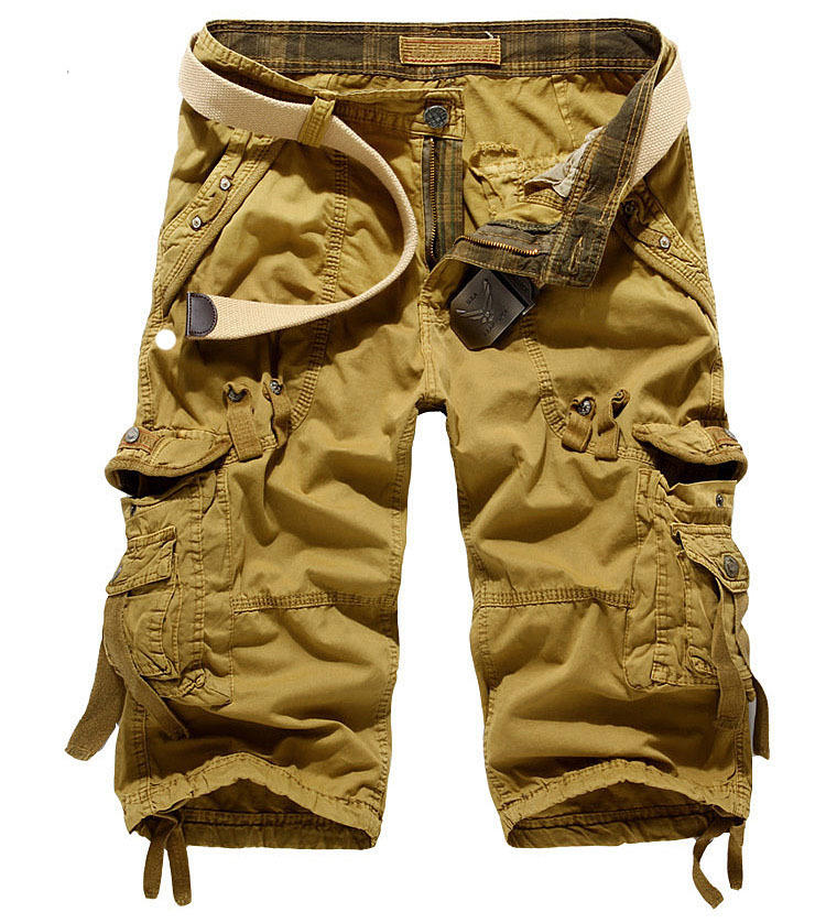 3 4 Mens Cargo Shorts