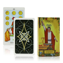 radiant rider waite tarot cards Full English factory made high quality tarot card with colorful gift