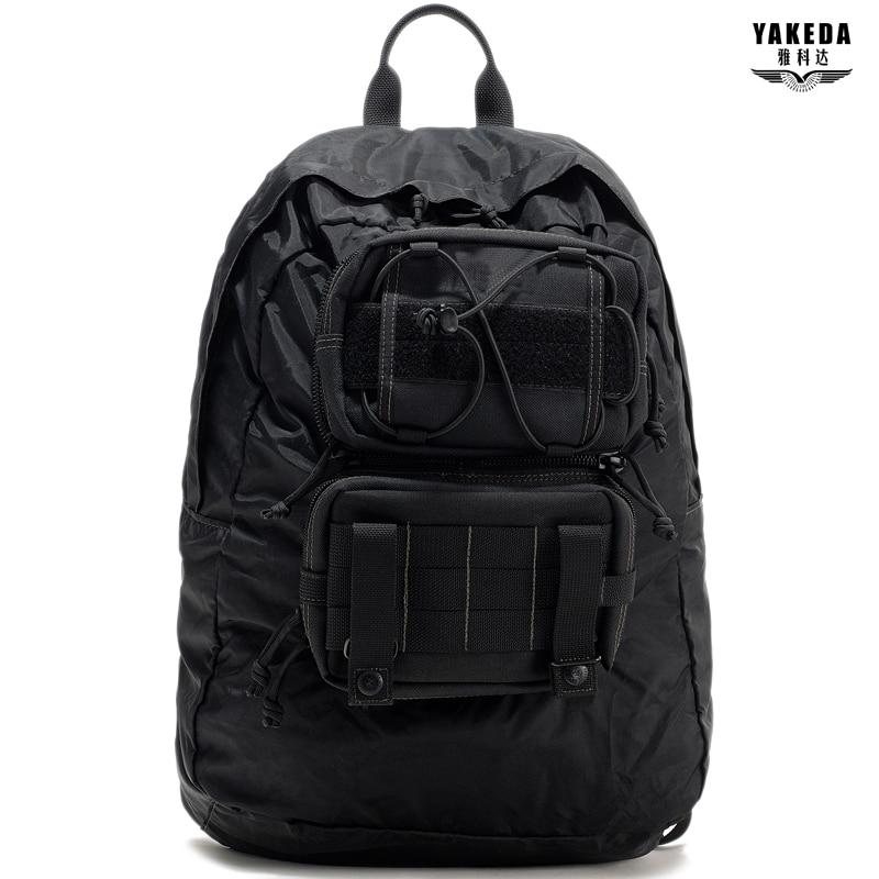2016 새로운 스타일의 YaKeda 브랜드 야외 스포츠 여행 휴대용 가방 타고 레저 배낭 등산 남성과 여성