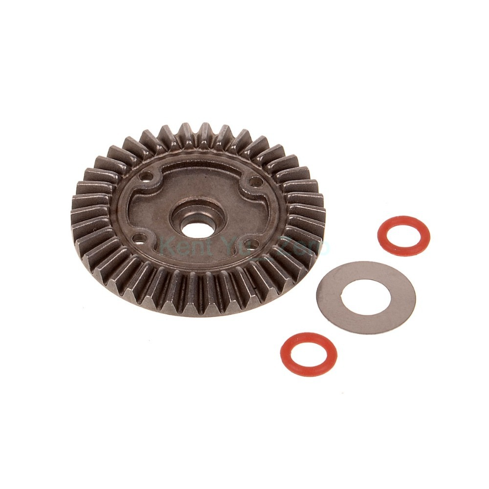 HSP Original Parts 02029 Diff.Main Gear 1:10 RC Car Buggy Truck HIMOTO REDCAT hsp 02023 clutch bell double gears 1p rc 1 10 scale car buggy original parts