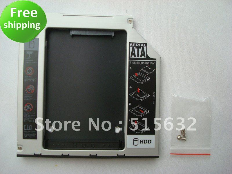 PATA IDE 2nd HDD Hard Driver Caddy 9.5mm for 2510p nc2400 multibay new