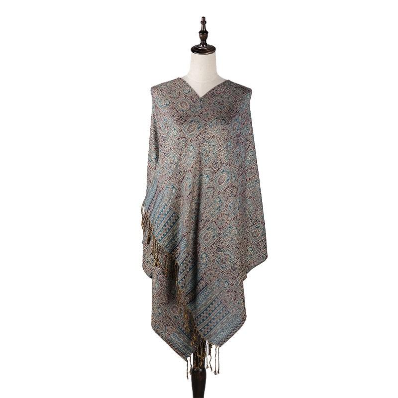 0 23kg YILIAN Brand Classic Print Paisley Weaving cotton Women Head Scarf 2018 Warm Multicolor Fashion Women Scarf Shawl LL006 in Women 39 s Scarves from Apparel Accessories