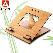 Arvin Ergonomische Laptop Stand Voor Macbook Pro Folding Cooling Laptop Houder Verstelbare Draagbare PC Stand lapdesk Suporte Notebook