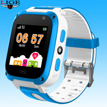 LIGE Smart watch  Kid Watches Baby Watch for Children SOS Call LBS Location Finder Locator Tracker Anti Lost Childs gift