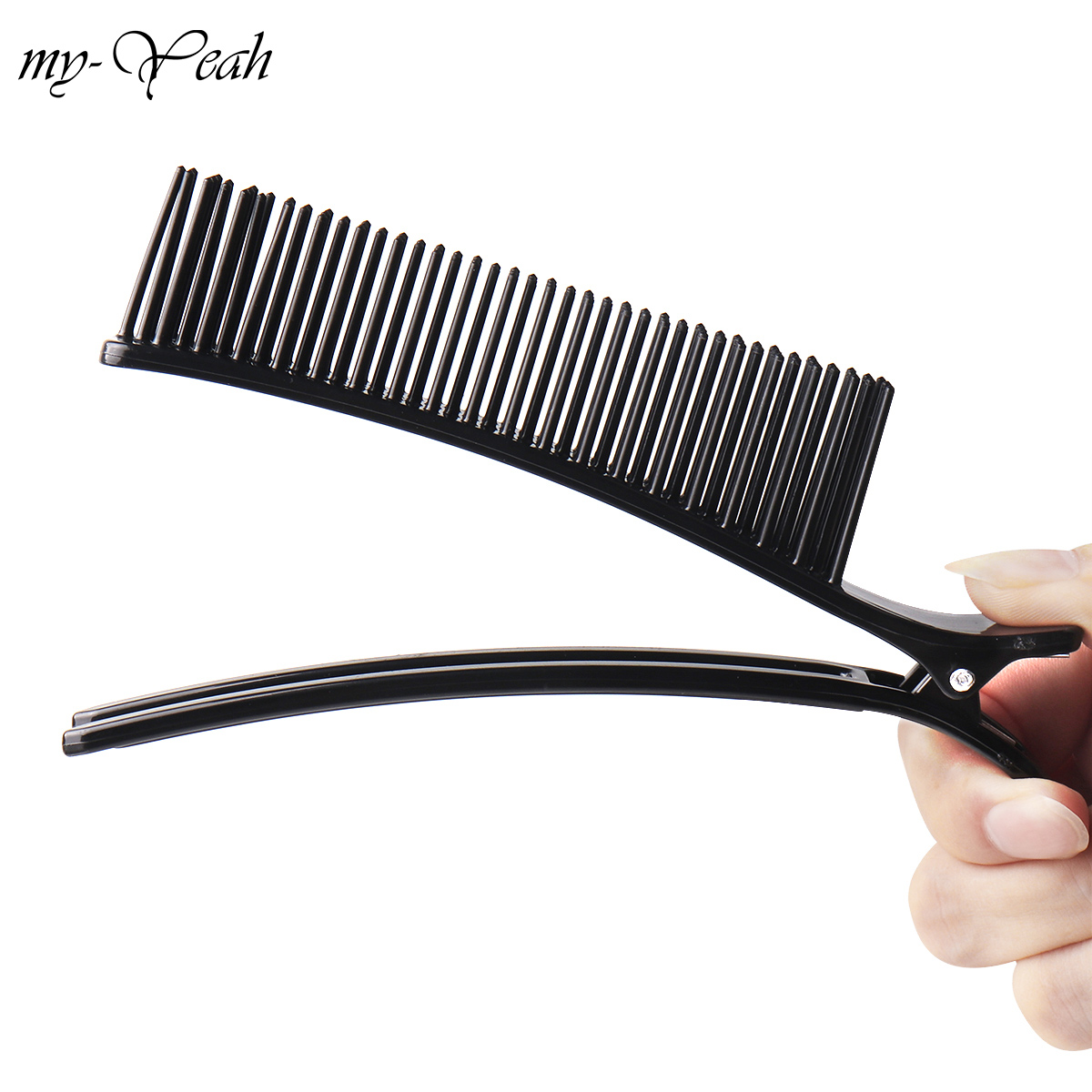 Professional Hair Clip Clamps Hairdressing Sectioning Cutting Comb Salon Drying Perm Dyeing Hairstyling Tool