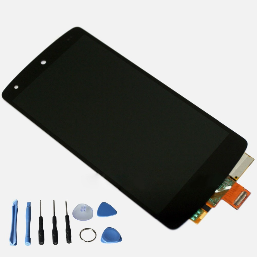 100% A+ Quality Black For LG Google Nexus 5 D820 D821 LCD Display Touch Screen with Digitizer Assembly with Free Tools 5pcs lot 100% original new display screen lcd assembly with frame for lg nexus 5 d820 d821 lcd black